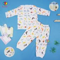 1 Setelan Baby New Born SNI / Lengan Panjang Baju Celana Kaos Bayi