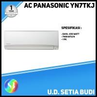 AC Single Split Panasonic YN7TK Standard Lokal 3/4 PK (Surabaya Only)