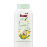 Bambi Baby Prickly Heat Powder 100gr Bedak Biang Keringat Bayi