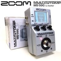 Zoom MS50G / MS 50G / MS-50G Multi Stompbox Pedal Efek Gitar