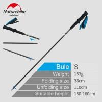 Trekking Pole Lipat Naturehike ST08 ULH Carbon NH18D020 -Z Uk S 110 cm