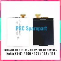 SUPER SALE LCD 12 PIN NOKIA C1 00 C1 01 C1 02 C1 03 C2 00 X1 01 100