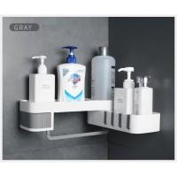 Corner shower rotary shelf Rak gantung putar serbaguna CS874