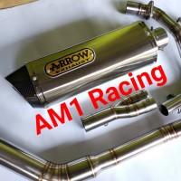 Knalpot Racing ARROW CBR250RR Ninja250 Fi Karbu R25 R 25 MT25 Z250 DLL