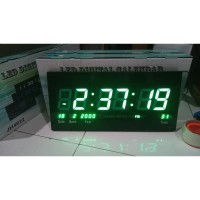 Jam Dinding Digital LED Hijau JH 4622