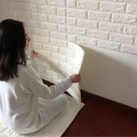 Wallpaper Dinding 3D Bata 70 x 77 cm Brick Foam