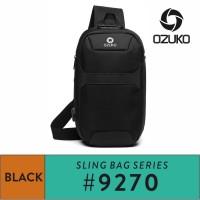 Ozuko Sling bag #9270 - Black