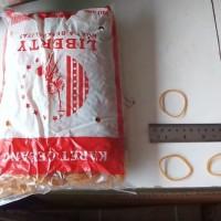Karet gelang Kuning Besar Merk liberty 500 gram