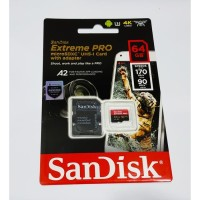Sandisk extreme pro microsd 64GB 170MB/s A2 |Micro SD 64gb extreme pro