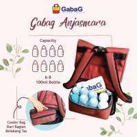 Gabag Backpack Cooler Bag Anjasmara TAS PERLENGKAPAN BAYI BOTOL ASI