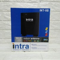 ANTENA TV DIGITAL & ANALOG INDOOR OUTDOOR INTRA INT118 FREE CABLE 10M