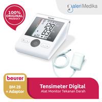 Beurer BM-28 / BM28 Tensimeter Digital Lengan + Adaptor Listrik