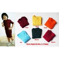Dress Rajut Anak All size 1-3 tahun