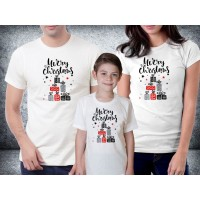 Baju kaos couple family natal - Merry Christmas Gifts