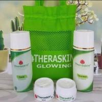 Paket Theraskin Glowing Cleaner,Toner,Day Cream, Night Cream