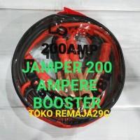 KABEL JAMPER UNTUK Aki mobil & Truck jumper Aki 200 Amper 2.5 mtr +-