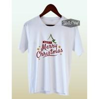 Kaos Natal Dewasa-Anak 09 Cotton Combed