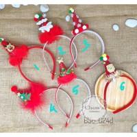 Bando Natal Topi Natal / Topi Santa Claus Glitter