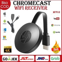 NEW GOOGLE CHROMECAST 2 HDMI STREAMING MEDIA PLAYER TV DONGLE