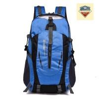 (IMPORT) Tas Backpack Pria Wanita Hiking Anti Air / Tas Kerja - Biru