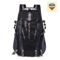 (IMPORT) Tas Backpack Pria Wanita Hiking Anti Air / Tas Kerja - Hitam