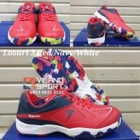 Sepatu Badminton Flypower Losari 3 Red