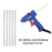 Isi / Refill Lem Tembak Glue Gun 13 Cm Kecil Bakar Lem Lilin Putih