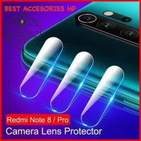 XIAOMI REDMI NOTE 8 PRO TEMPERED GLASS CAMERA LENS PROTECTOR CLEAR