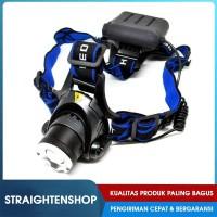 Headlamp Berburu Mancing LED Cree Lampu Senter Ikat Body Kepala Malam