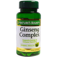 Ginseng Complex 75 Kapsul - Natures Bounty