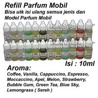 Refill Pengharum / Refill isi ulang Parfum Mobi / Parfume Mobil 10ml