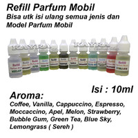 Refill isi ulang Parfum Mobi / Parfume Mobil 10ml / Refill Pengharum