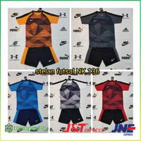 Baju Kaos Olahraga Jersey Bola Setelan Futsal NIKE NK.136 Pilihan