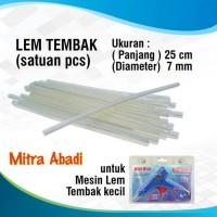 Lem Tembak Lilin/Glue Gun Stick Kecil 25 cm x 7 mm
