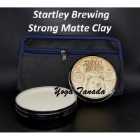POMADE STARTLEY BREWING STRONG MATTE CLAY 100 GRAM BPOM (FREE CLUTCH)