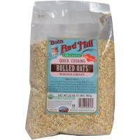Bob s Red Mill Quick Cooking Rolled Oats Whole Grain 907 g
