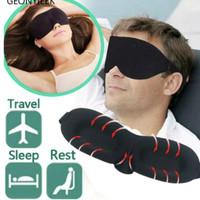 Sleep eye Mask 4D anti PANAS Penutup Mata Tidur Anti Silau Insomnia
