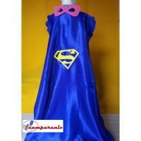 Superman Dewasa Jual Topeng Mask Jubah Cape Kostum
