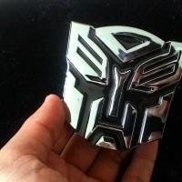 Emblem Transformers Autobots Chrom / Transformer Autobot / Tranfo