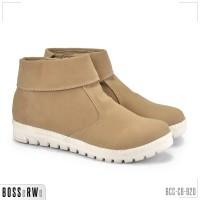 Sepatu Kasual Boots Ankle Resleting Wanita | BCC-C6-920