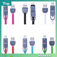 2In1 Kabel Data / Charger Micro Usb + Type-C U Android