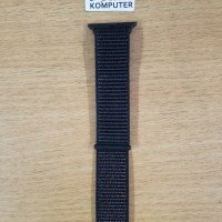 Strap Khusus Pengganti Tali Jam Apple Watch 1-2-3 42mm Black Wove