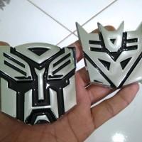 Emblem Transformers Autobots Decepticon Chrom Emblem Lambang Tran