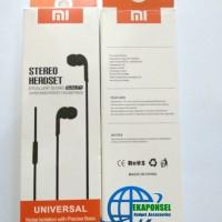 Xiaomi Branded Headset Earphone Megabass Murah