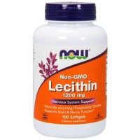 Now Foods, Lecithin, 1200 mg, 100 Softgels