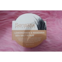 Sensatia Botanicals Lemongrass & Mandarin Sea Salt Scrub 300ml