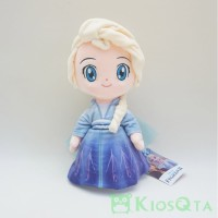 Boneka elsa frozen II chibi cute version disney princess original