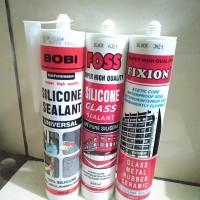 Lem kaca botol / Lem silikon sealand / lem tabung