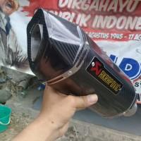 Knalpot racing Akrapovic Layang Carbon Silincer Only