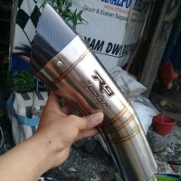 Silincer Knalpot racing R9 H2. Silincer Only
